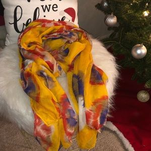 Accessories - Floral Scarf/Wrap